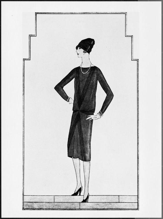 La petite robe noire de Chanel, 1926